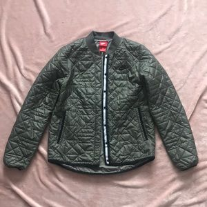 Nike quilted thin puffer